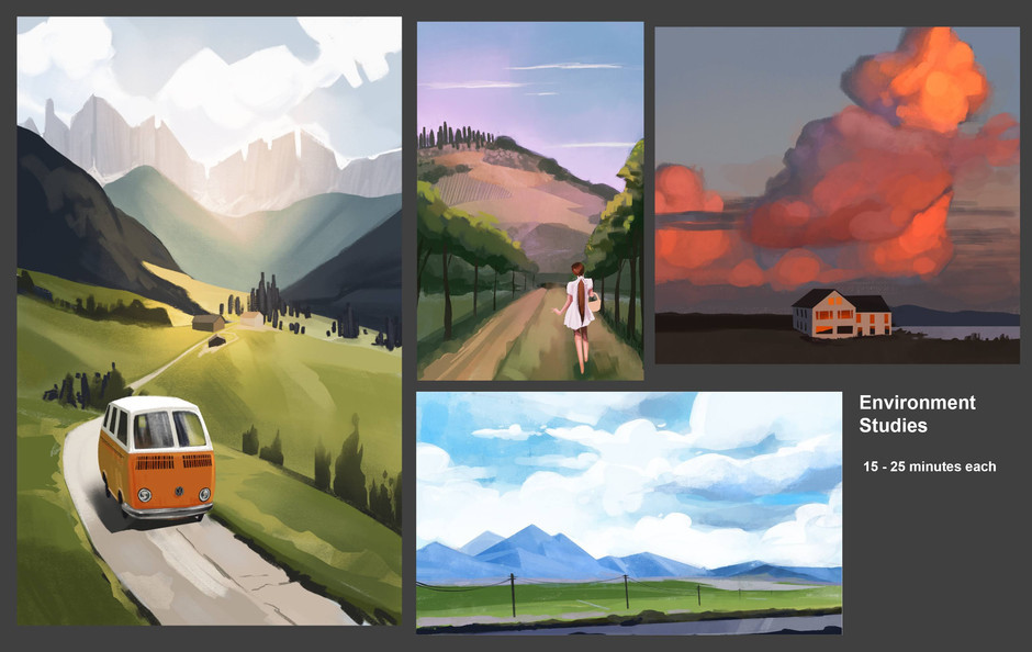 Environment Studies from Photos