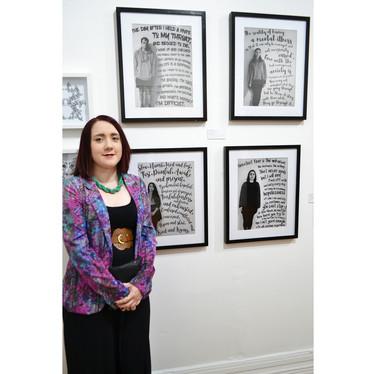 Exhibtion Opening Night - Artist & Artwork