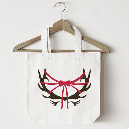 Deer Couture Canvas Bag