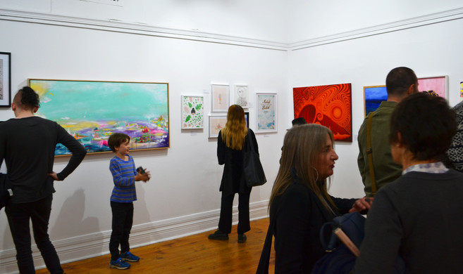 Exhibtion Night Gallery Images