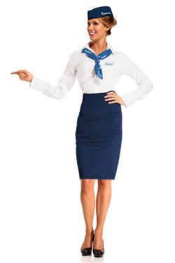 Форма стюардесс Газпром