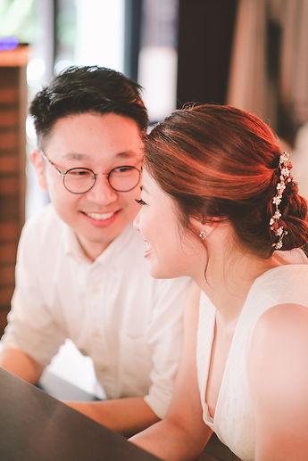 Pre-wedding shoot natural