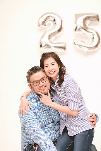 wedding anniversary studio shoot