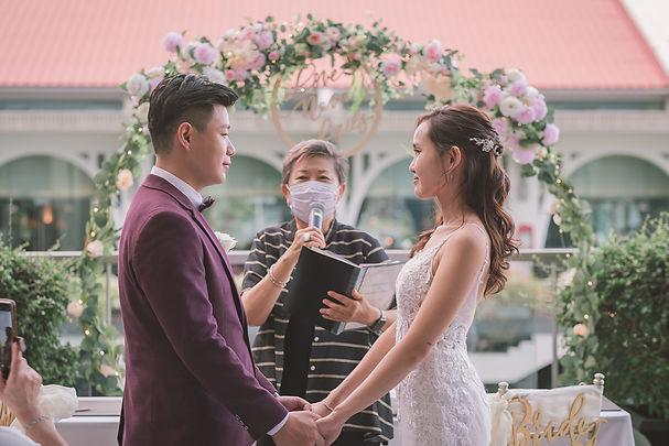 Fullerton Bay Hotel Wedding Singapore