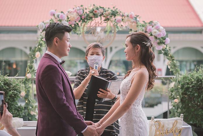 Singapore Fullerton Bay Hotel Wedding