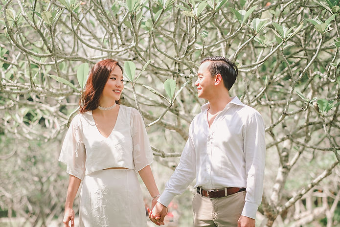 singapore botanic gardens couple shoot