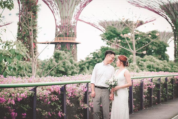 Gardens By The Bay Pre-wedding shoot