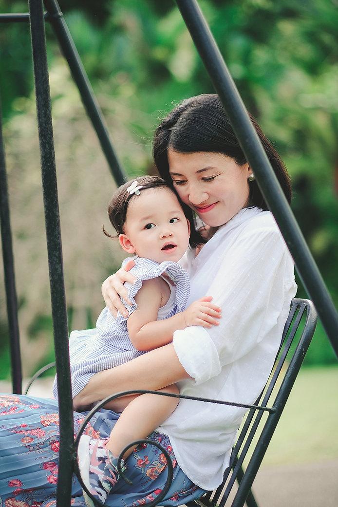 SG botanic Gardens family photoshoot