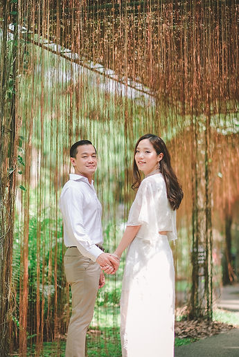 sg botanic garden pre wedding photoshoot