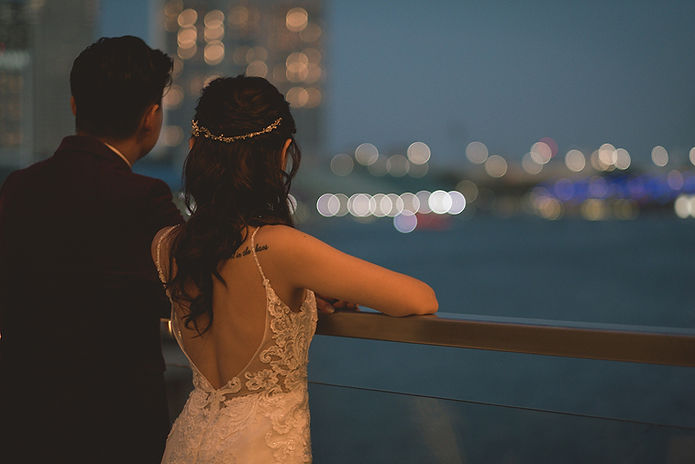 Marina Bay Wedding Photo