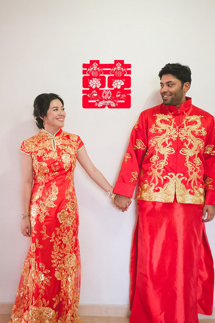 singapore indian chinese wedding