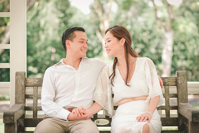 sg botanic garden wedding shoot