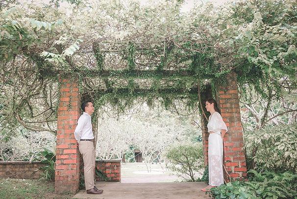 botanic gardens pre wedding