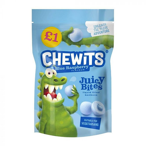 Chewits Blue Raspberry Juicy Bites £1 PMP 145g