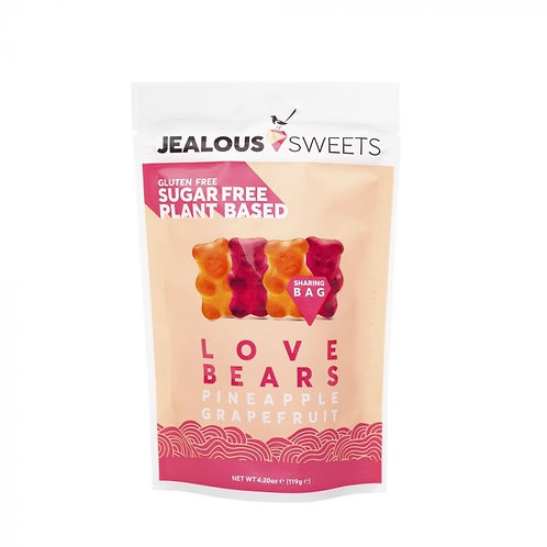 Jealous Sweets Sugar Free Love Bears Sharing Bag 119g
