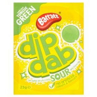 Barratt Dip Dab Sour Apple 23g