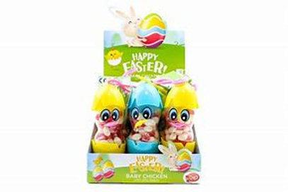 Happy Easter Baby Chick Jelly Beans Keyring 50g