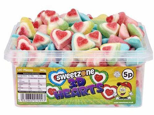 Sweetzone 3D Hearts