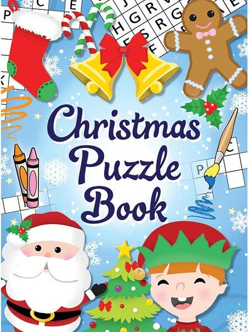 BOOK FUN CHRISTMAS PUZZLE 10 X 14CM
