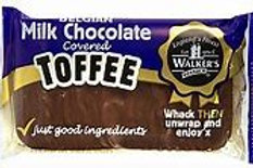 Walker's Nonsuch Milk Chocolate Covered Toffee Bars 100g