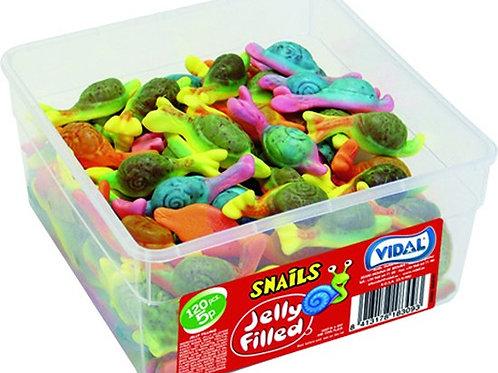 Vidal Jelly Filled Snails 5p