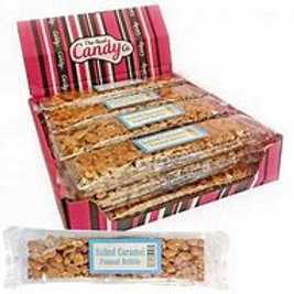 Real Candy Co. Salted Caramel Peanut Brittle Bars 100g