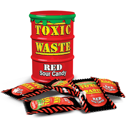 Toxic Waste Red Drums