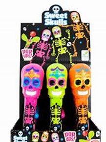 Sweet Skulls Pop Ups Lollipops 72g