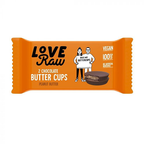 Home     Love Raw Chocolate Peanut Butter Cups 34g