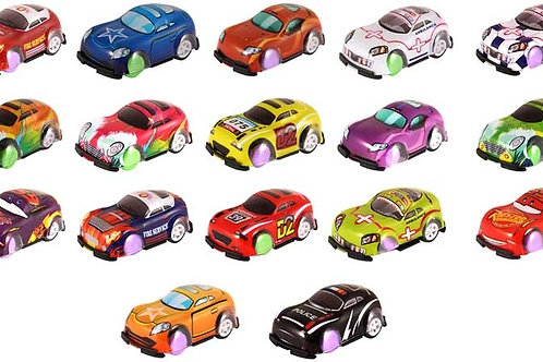 FUN TOYS CAR PULL BACK 5.3CM ASST DESIGNS ASST COLS