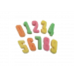 Sugared Gummy Numbers Bag 2kg