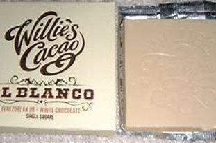 Willie's Cacao El Blanco White Chocolate Bar 50g