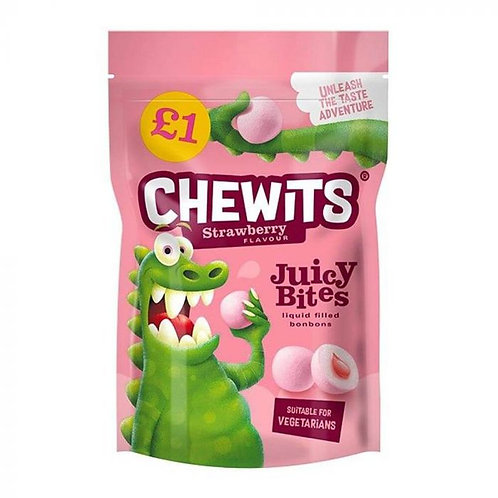 Chewits Strawberry Juicy Bites £1 PMP 145g