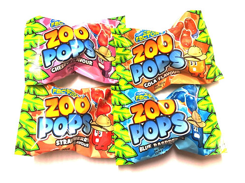 Crazy Candy Factory Zoo Lollipops