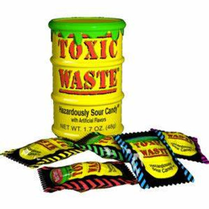Toxic Waste Yellow Tubs