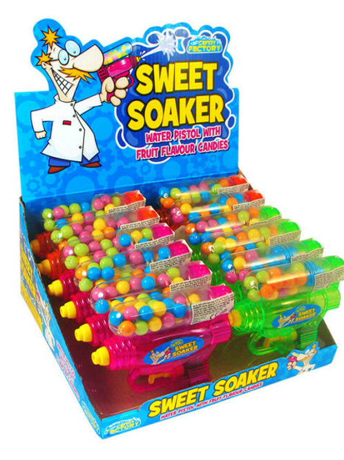 Crazy Candy Factory Sweet Soaker Toy & Candy 18g