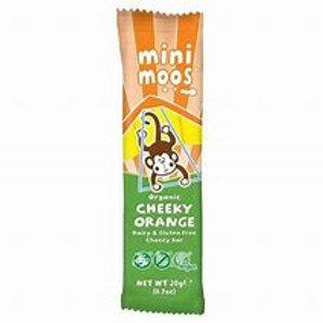 Moo Free Mini Moos Cheeky Orange Chocolate Bar 20g