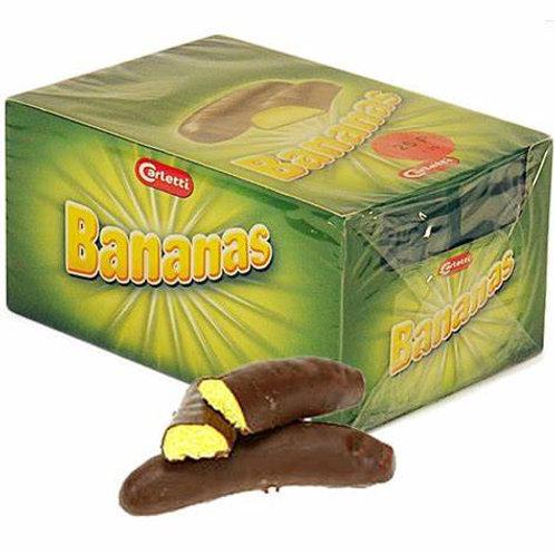 Chocolate Foam Bananas