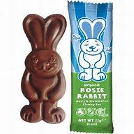 Moo Free Rosie Rabbit Chocolate Bar 32g