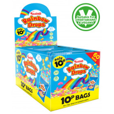 Swizzels Rainbow Drops Mini 10p Bags