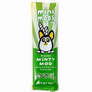Moo Free Mini Moos Minty Moo Chocolate Bar 20g