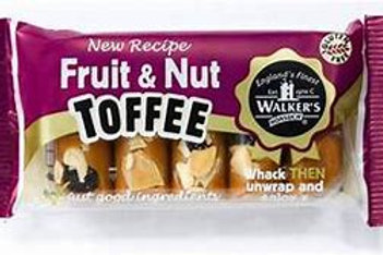 Walker's Nonsuch Fruit & Nut Toffee Bars 100g