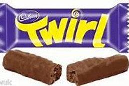 Cadbury Twirl Chocolate Bars