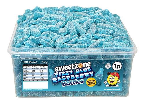 Sweetzone Fizzy Blue Raspberry Bottles
