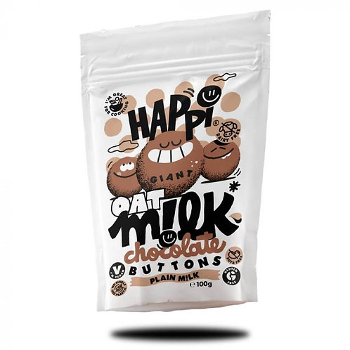 Happi Oat Milk Chocolate Buttons 100g