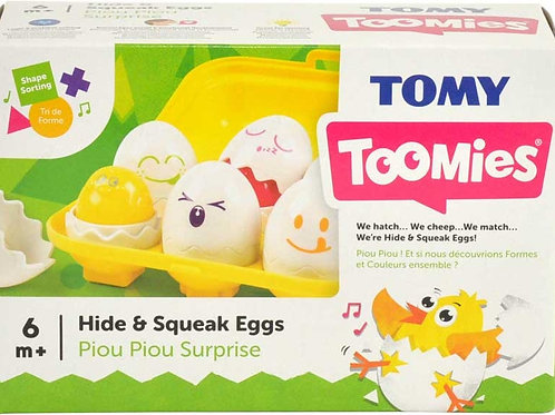 TOOMIES HIDE N SQUEAK EGGS
