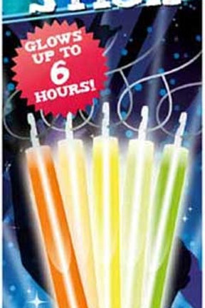 GLOW STICK 15CM WITH LANYARD COLOUR CHANGING COL