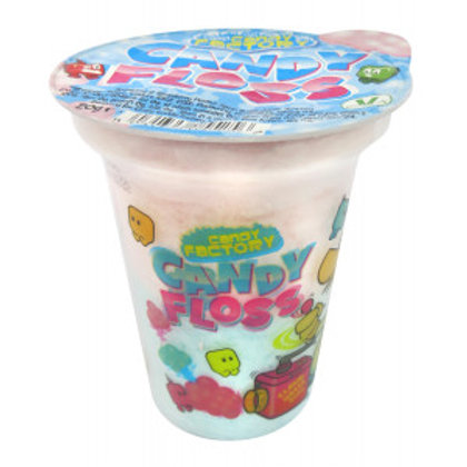 Crazy Candy Factory Candy Floss Cups 20g