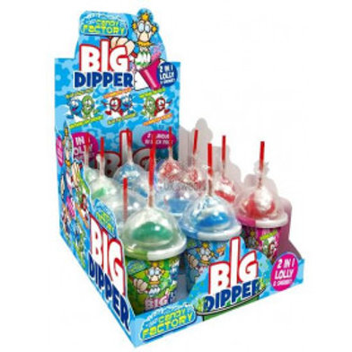 Crazy Candy Factory Big Dipper Lollipop & Sherbet Dip