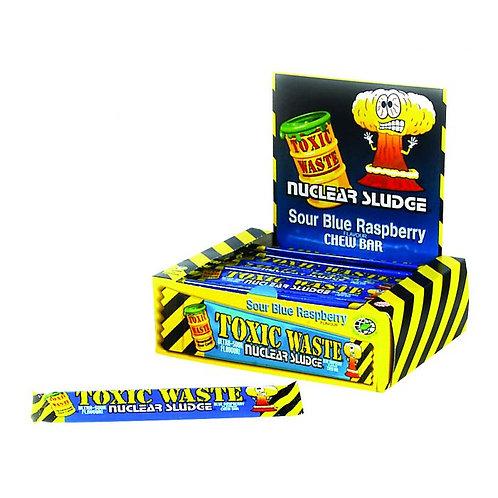 Toxic Waste Blue Raspberry Chew Bars 20g